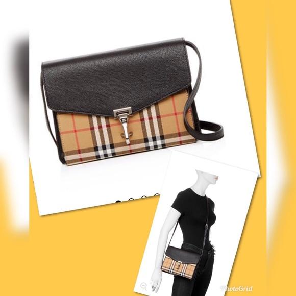3ad476b4c240 Burberry vintage check smacken crossbody Bag